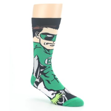 Image of Green Lantern 360 Men's Casual Socks (side-1-27)