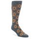 Gray-Orange-Fights-Malaria-Mens-Dress-Socks-Conscious-Step