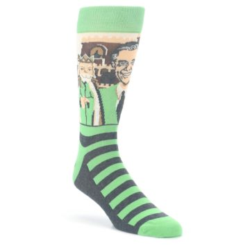 dff05eb3ff4 Image of Green Mister Rogers and Friends Men's Dress Socks. QUICK VIEW.  CUSTOMIZABLE