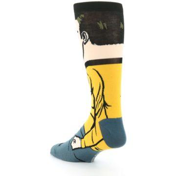 Image of Captain Kirk Star Trek 360 Men's Casual Socks (side-2-back-15)