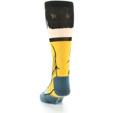 Image of Captain Kirk Star Trek 360 Men's Casual Socks (back-17)