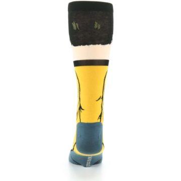 Image of Captain Kirk Star Trek 360 Men's Casual Socks (back-18)