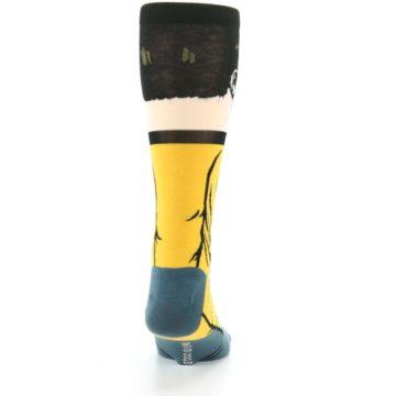 Image of Captain Kirk Star Trek 360 Men's Casual Socks (back-19)