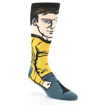 Image of Captain Kirk Star Trek 360 Men's Casual Socks (side-1-27)