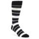 Image of Black White Men's Dress Sock Gift Box 3 Pairs (front-05)