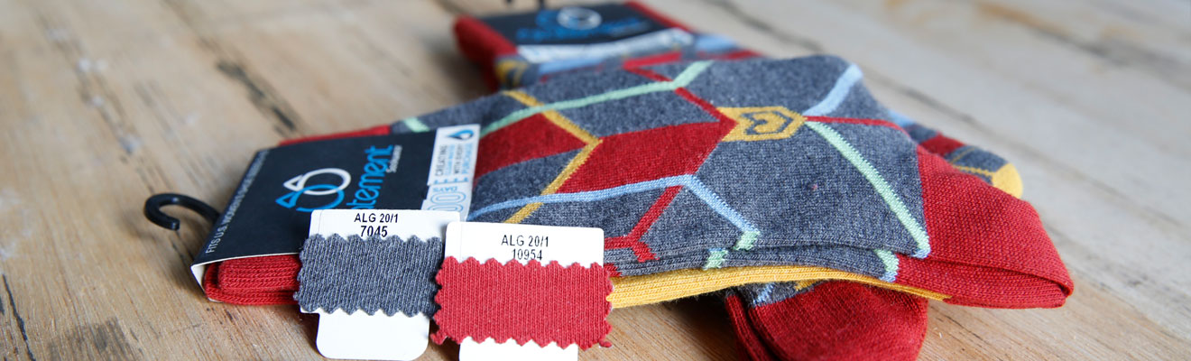 Custom Dress Socks - Knit Calvin Socks