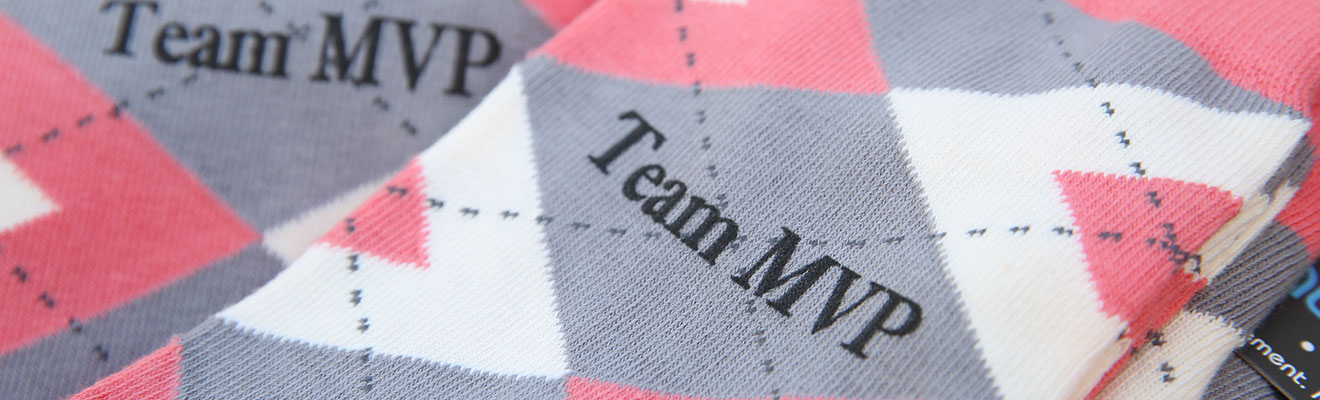 Example of a Personalized Sock