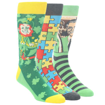 Image of March 2019 Lucky Green Color of the Month Gift Box 3 Pairs