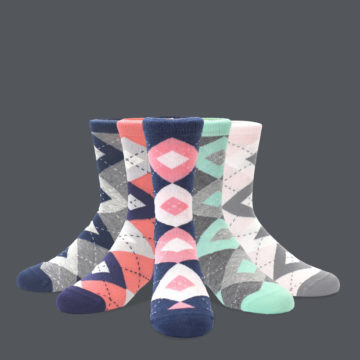 Junior Groomsmen Argyle Socks
