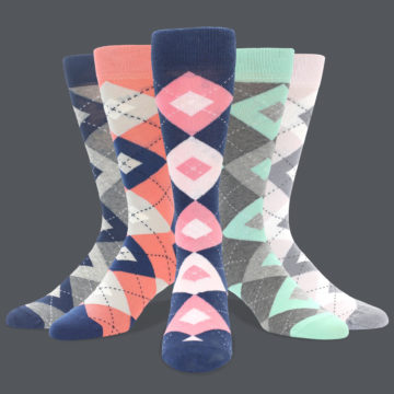 Groomsmen Gifts-Men/'s Wedding Socks Individually Gift Boxed Zig Zag Red Striped Dress Socks 1 pack of Groomsmen Socks for Weddings