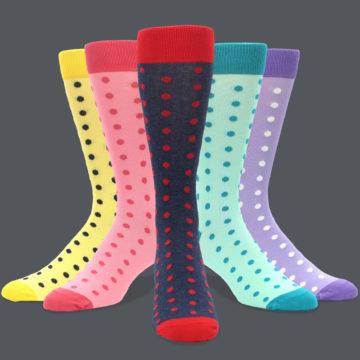 Men's Wedding Pattern Socks