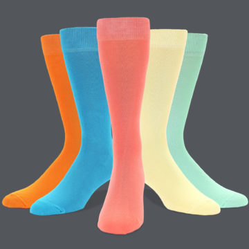 Men's Wedding Solid Socks