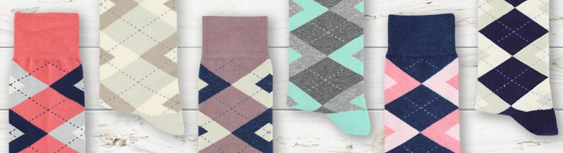 Argyle Socks from boldSOCKS