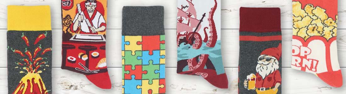 Example of Men's Boldest Socks from boldSOCKS