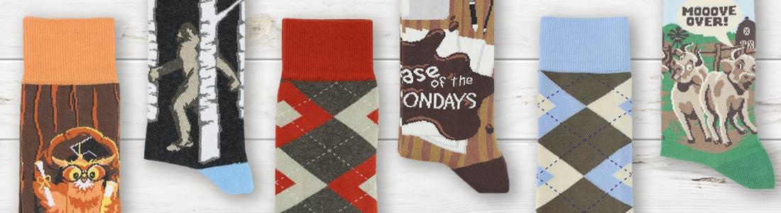 Shop Men's Brown Dress Socks from boldSOCKS