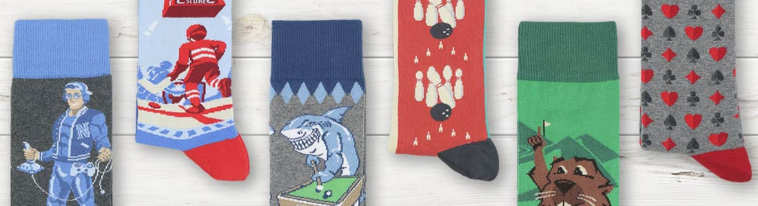 Example of Men's Fun & Games Dress Socks