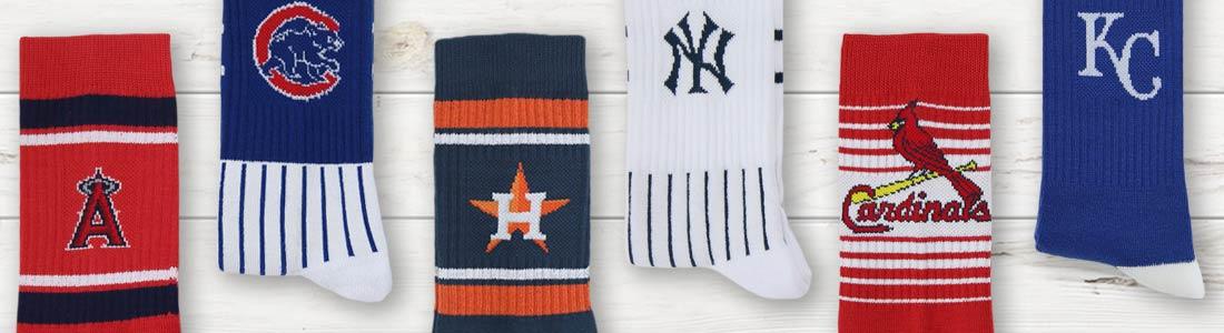 Shop Men's MLB (Baseball) Socks from boldSOCKS
