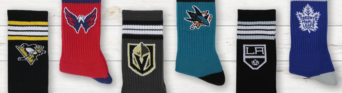 Example of Men's NHL (Hockey) Socks from boldSOCKS