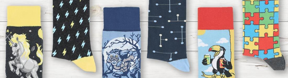 Example of Men's Dress Socks from boldSOCKS