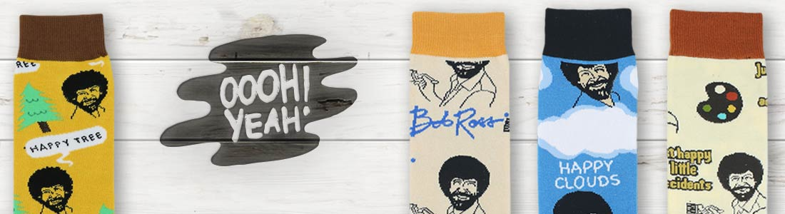Example of Men's Oooh Yeah Socks from boldSOCKS