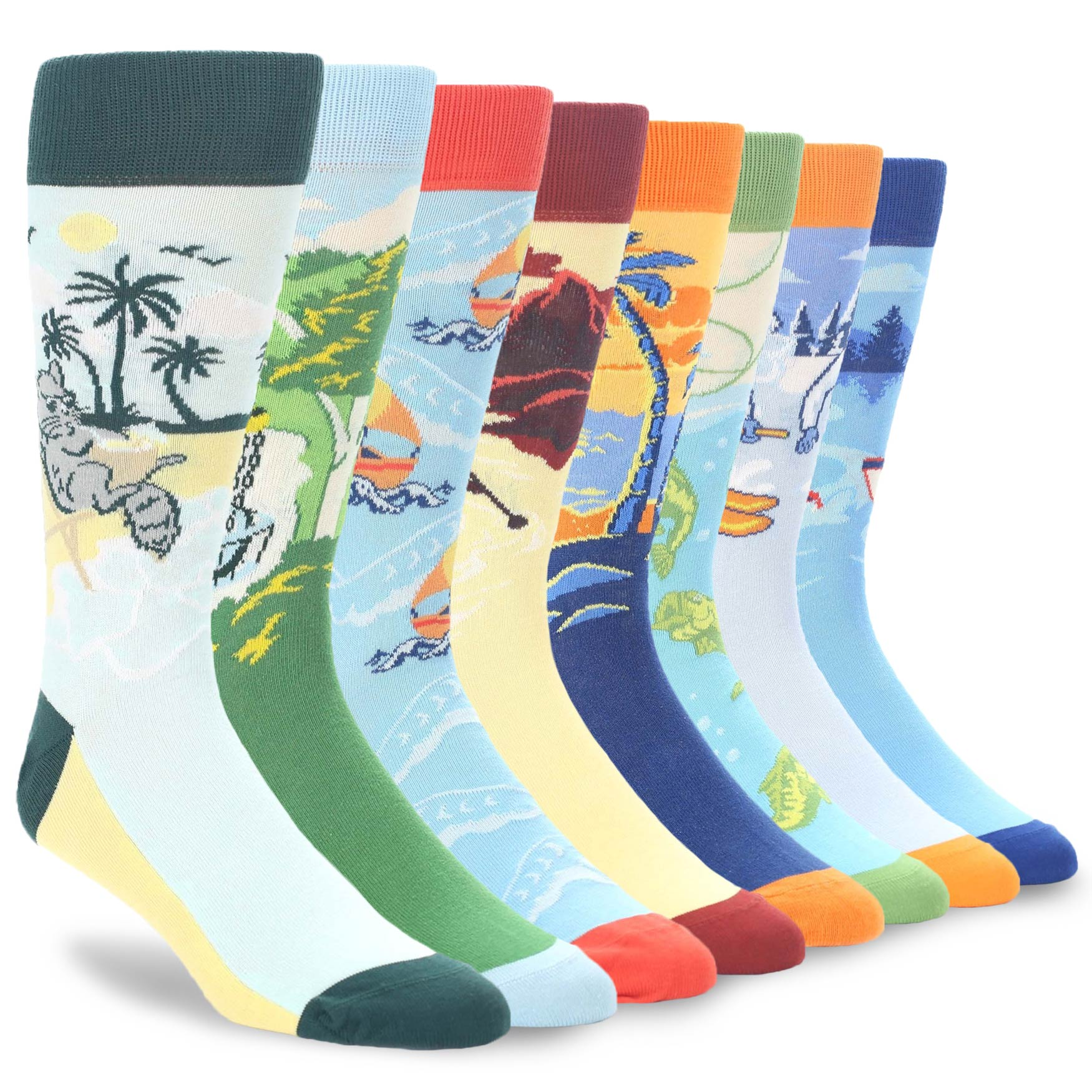 Example of Men's Outdoor Activity Dress Socks from boldSOCKS