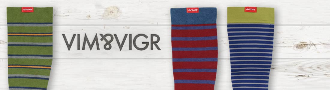 Example of Men's Vim & Vigr Socks from boldSOCKS