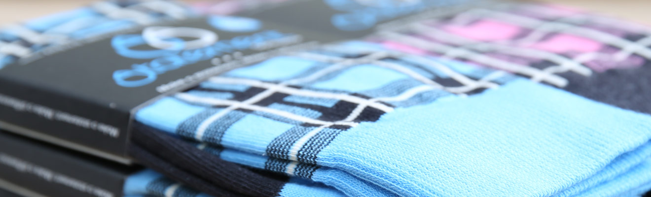 Example of Plaid Socks from boldSOCKS