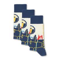 Example of Beer City Socks available on boldSOCKS