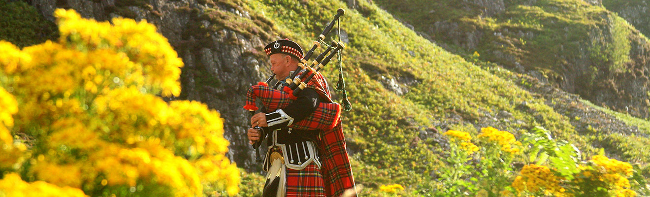 Example of Scotland Highlands