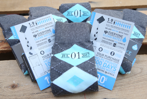 Turquoise Pool and Gray Argyle Customized Date Groomsmen Dress Socks|