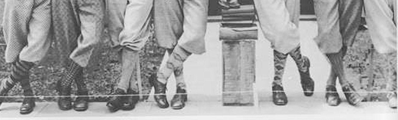 Example of Vintage Argyle Socks