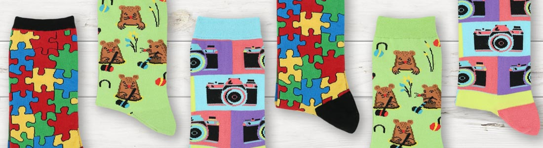 Example of Women's Fun & Game Socks from boldSOCKS
