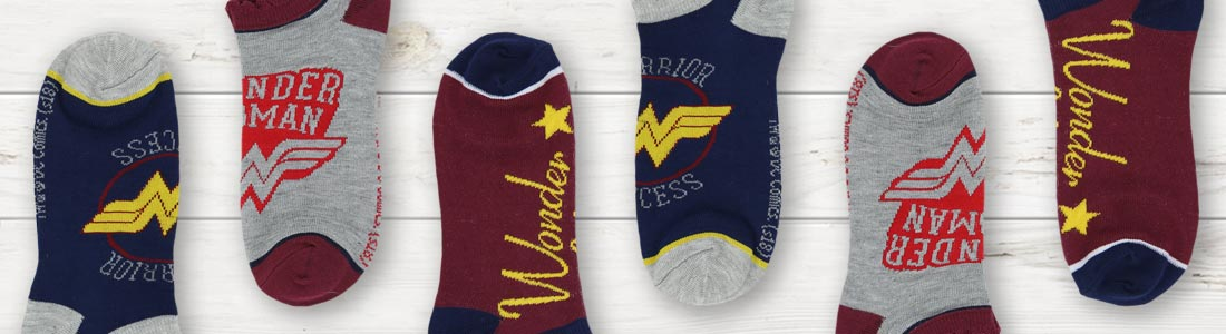 Example of Women's Pop Culture Socks from boldSOCKS