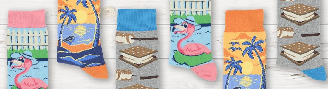 Example of Women's Seasonal Socks from boldSOCKS