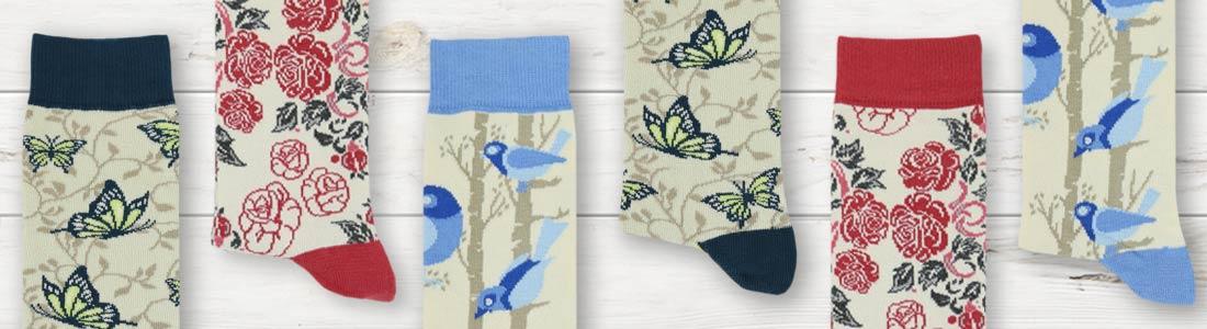 Example of Women's Tan Socks from boldSOCKS