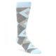 Image of Capri Blue Argyle Men's Dress Sock Gift Box 3 Pairs (front-04)