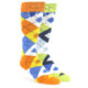 Image of Orange Lime Argyle Men's Dress Socks Gift Box 2 Pack me