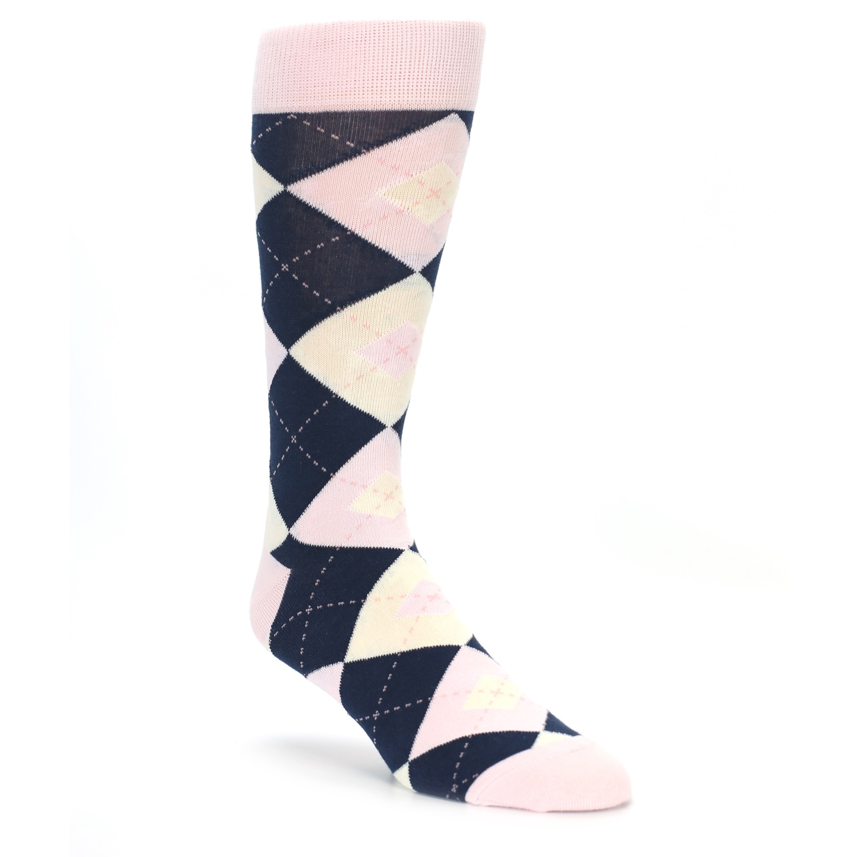 Petal Pink Groomsmen Wedding Dress Sock Gift Box 3 Pairs