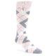 Image of Petal Pink Groomsmen Wedding Dress Sock Gift Box 3 Pairs (side-1-front-03)